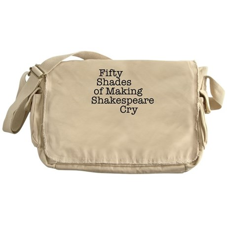 Fifty Shades of Making Shakespeare cry Messenger B