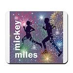 Mickey Miles Logo Mousepad