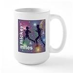 Mickey Miles Logo Large Mug