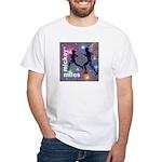 Mickey Miles Logo White T-Shirt