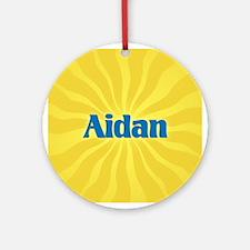 Aidan Sunburst Ornament (Round)