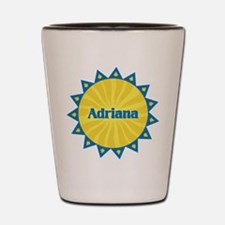 Adriana Sunburst Shot Glass