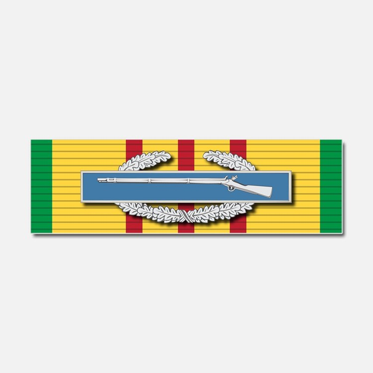 CIB Vietnam Car Magnet 10 x 3