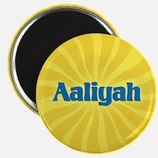 Aaliyah Sunburst Magnet