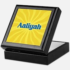 Aaliyah Sunburst Keepsake Box