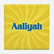 Aaliyah Sunburst Tile Coaster