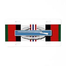 CIB Afghanistan Aluminum License Plate