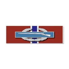CIB Bronze Star Car Magnet 10 x 3