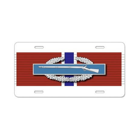 CIB Bronze Star Aluminum License Plate