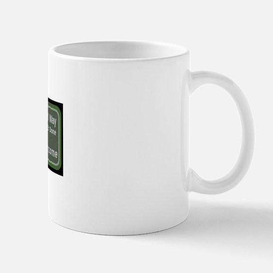 Achieve the Green Beret Way Banner Mug