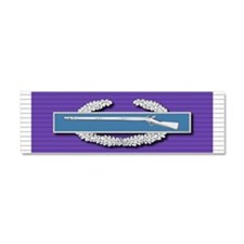 CIB Purple Heart Car Magnet 10 x 3