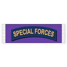 Special Forces Purple Heart Bumper Sticker