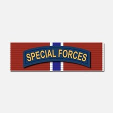 Special Forces Bronze Star Car Magnet 10 x 3
