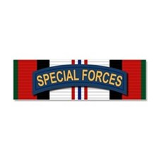 Special Forces Afghanistan Car Magnet 10 x 3