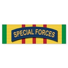 Special Forces Vietnam Bumper Sticker