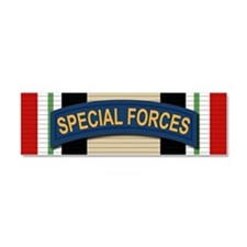 Special Forces Iraq Car Magnet 10 x 3