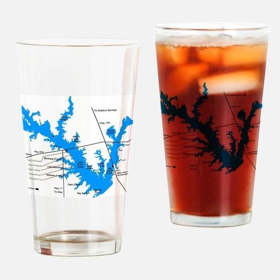 LAKE FORK Drinking Glass