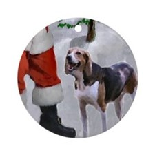 American Foxhound Ornament (Round)