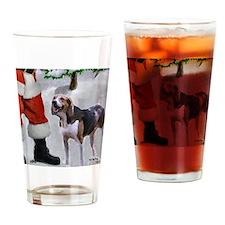 American Foxhound Drinking Glass