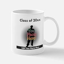 Custom Class of Graduation Photo/Name Mug