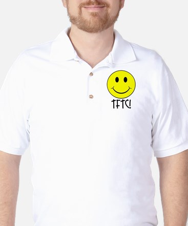 TFTC with Smiley Golf Shirt