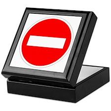 Do Not Enter Keepsake Box