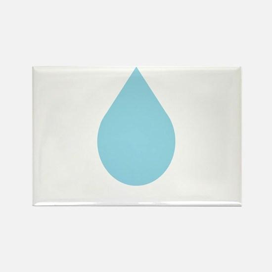 Water Drop Rectangle Magnet