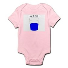 Glass Half Full Infant Bodysuit