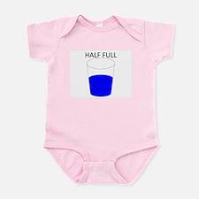 Glass Half Full Infant Bodysuit