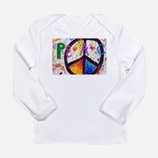 Love and Peace and Children Long Sleeve Infant T-S