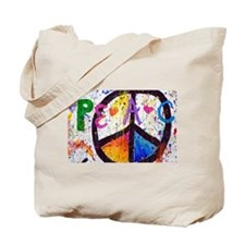 Love and Peace and Children Tote Bag