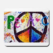 Love and Peace and Children Mousepad