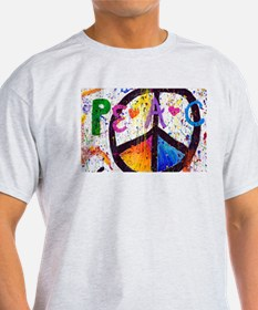 Love and Peace and Children T-Shirt