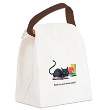 Read any good books lately? Canvas Lunch Bag