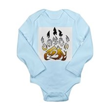 Bear pride claw Long Sleeve Infant Bodysuit