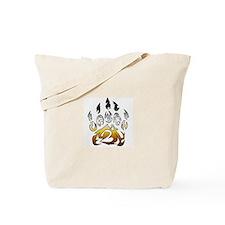 Bear pride claw Tote Bag