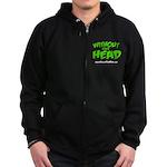without your head Zip Hoodie (dark)