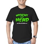 without your head Men's Fitted T-Shirt (dark)