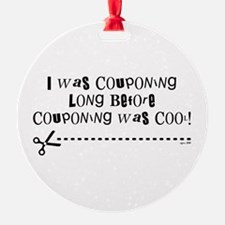 I WAS COUPONING... Ornament