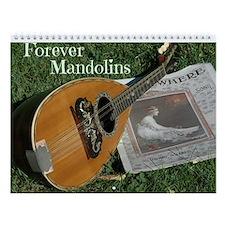 Forever Mandolins Wall Calendar