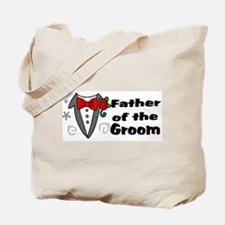 Father Of Groom Tote Bag