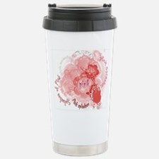 Splashes of Pink Travel Mug