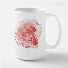 Splashes of Pink Mug