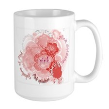 Splashes of Pink Mug