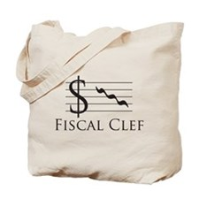 Fiscal Clef Tote Bag
