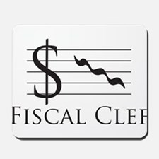 Fiscal Clef Mousepad