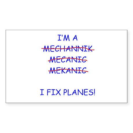 I Fix Planes Sticker