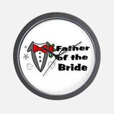 Father Of Bride Wall Clock