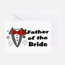 Father Of Bride Greeting Card