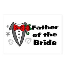 Father Of Bride Postcards (Package of 8)